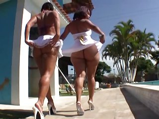Justin Slayer plus Nat Turnher admit two Brazilian asses