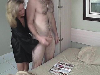 Ma Helps Son Masturbate