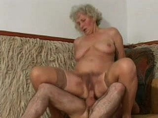 Master-work Granny Norma Doing What She Does Drained