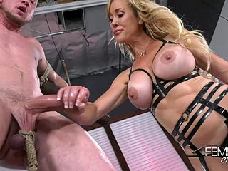 Brandi Have a crush on Edging Restraints - FEMDOM porn