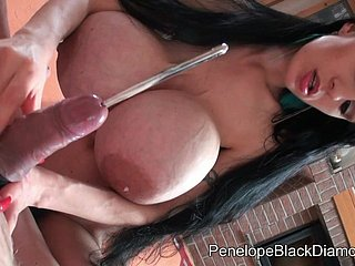 Penelope Unscrupulous Diamond - CBT queer porn peel