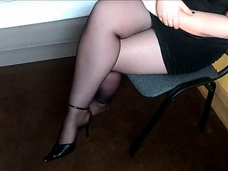 wife shoeplay with the addition of destroy old heels